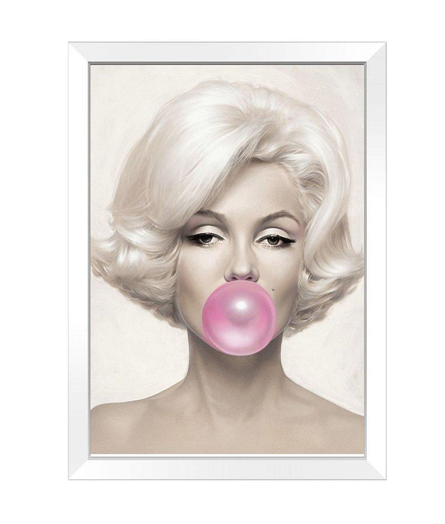 Quadro - Marilyn Monroe Chiclete - Kolor - Impressão digital, papéis ...