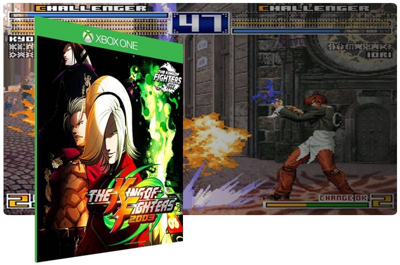 Banner do game ACA NEOGEO THE KING OF FIGHTERS 2003 em mídia digital para Xbox One