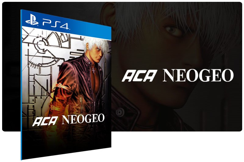 Banner do game ACA NEOGEO THE KING OF FIGHTERS 94,95,96,97,98 em mídia digital para PS4