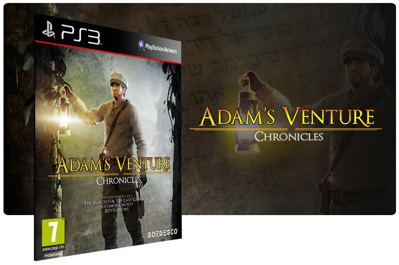 Banner do game Adams Venture: Chronicles para PS3