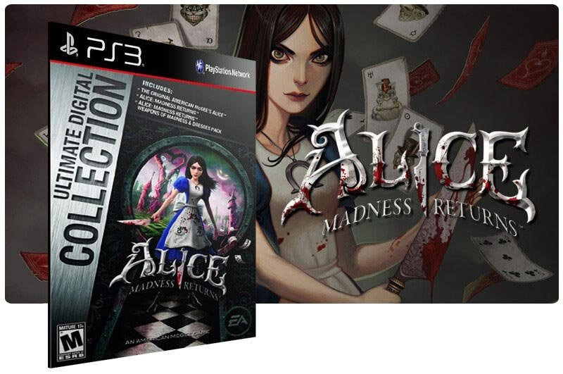 Banner do game Alice Madness Returns Ultimate Edition para PS3