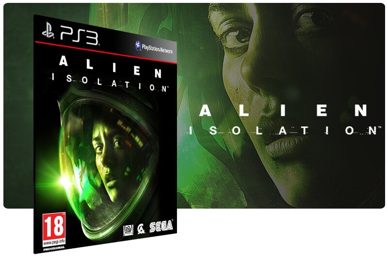 Banner do game Alien Isolation para PS3