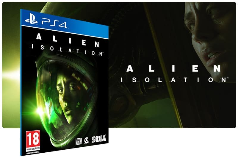 Banner do game Alien Isolation para PS4