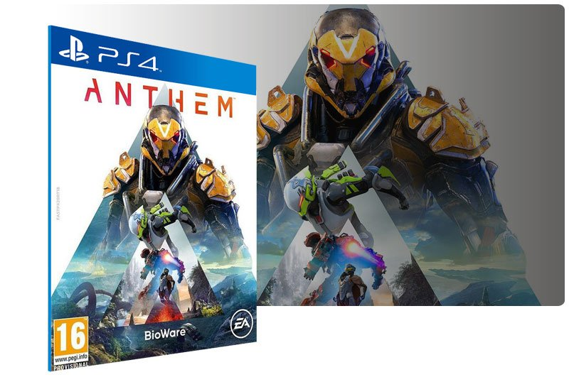 Banner do game Anthem Standard Edition para PS4