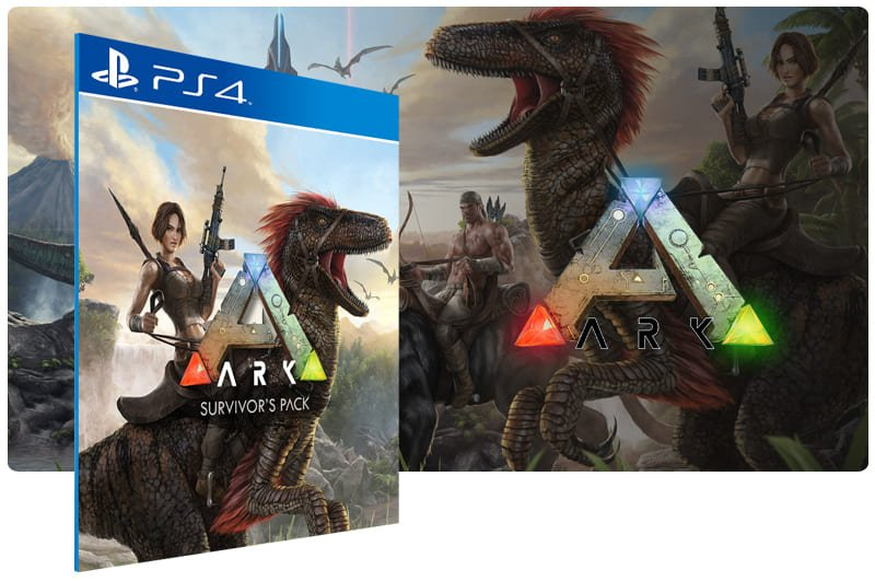 Banner do game Ark: Survival Evolved para PS4