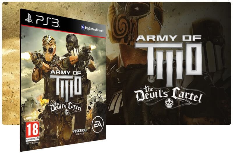 Banner do game Army Of Two The Devils Cartel para PS3