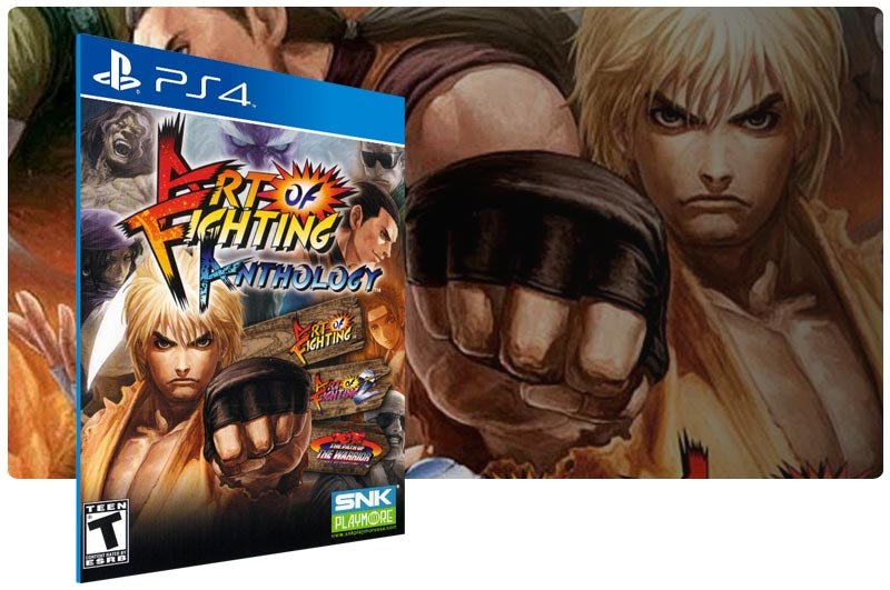 Banner do game Art Of Fighting Anthology para PS4