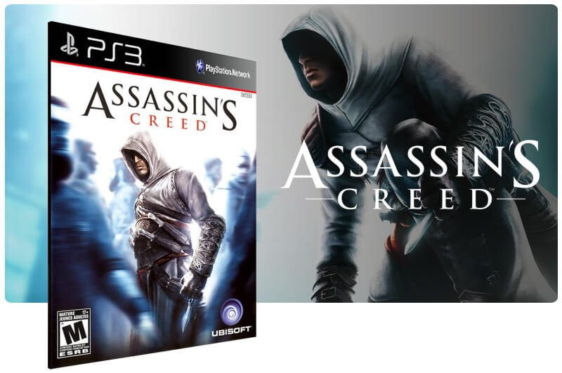 Banner do game Assassins Creed para PS3