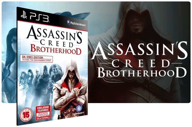 Banner do game Assassins Creed Brotherhood Ultimate Edition para PS3
