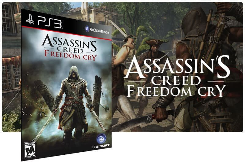 Banner do game Assassins Creed Freedom Cry para PS3