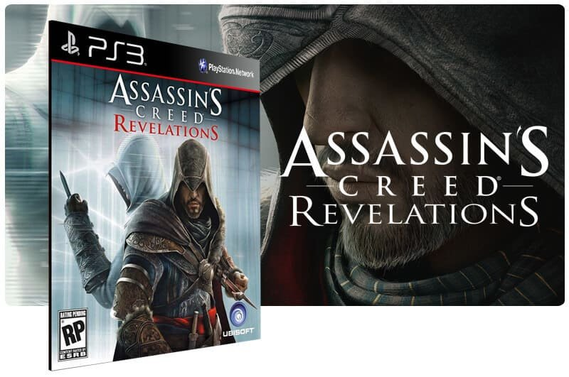 Banner do game Assassins Creed Revelations para PS3