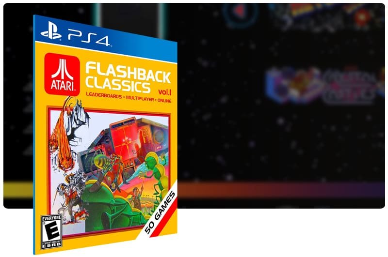Banner do game Atari Flashback Classics Vol 1 para PS4