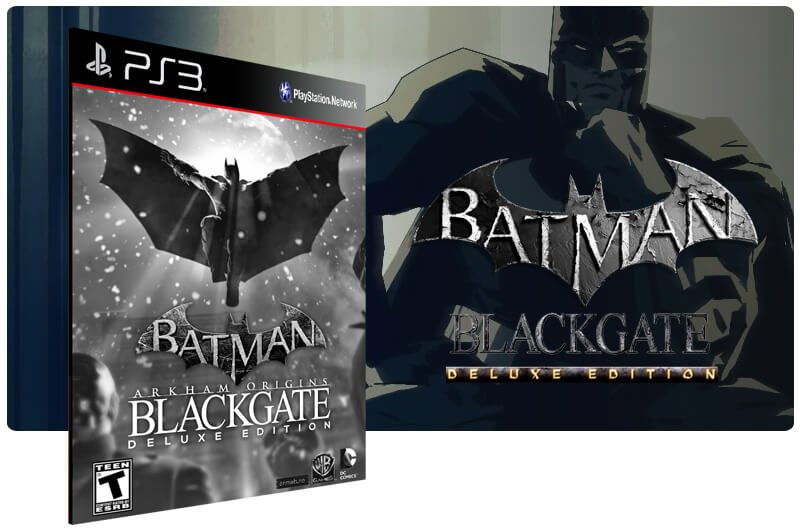 Banner do game Batman Arkham Origins Blackgate Deluxe Edition para PS3