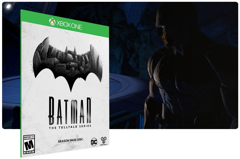Banner do game Batman: The Telltale Series The Complete Season em mídia digital para Xbox One