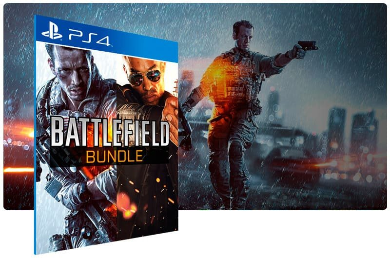 Banner do game Battlefield 4 + Hardline Bundle para PS4