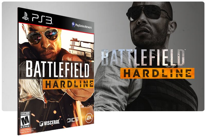 Banner do game Battlefield Hardline para PS3