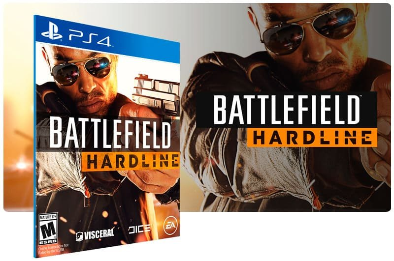 Banner do game Battlefield Hardline para PS4