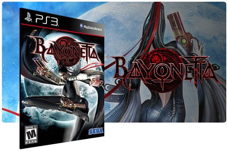 Banner do game Bayonetta para PS3