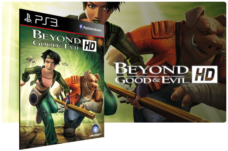 Banner do game Beyond Good Evil Hd para PS3