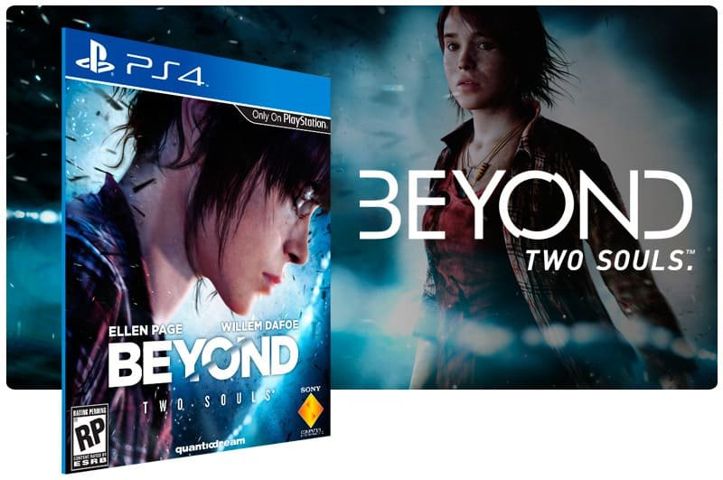 Banner do game Beyond: Two Souls para PS4