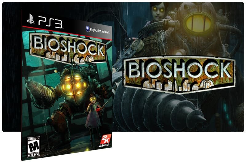 Banner do game Bioshock para PS3