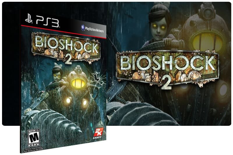 Banner do game Bioshock 2 para PS3
