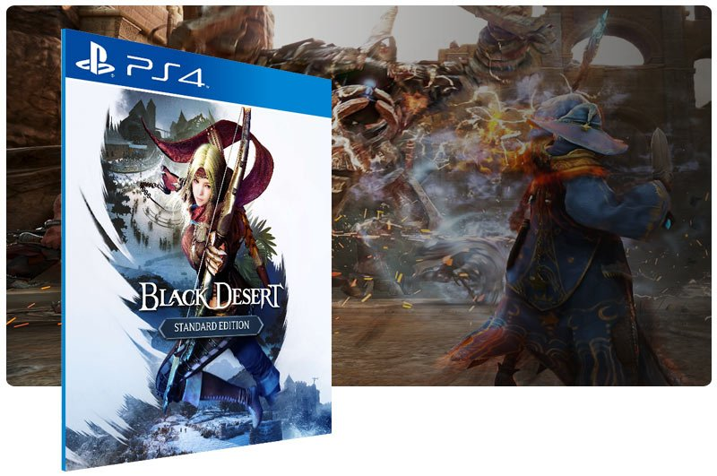 Banner do game Black Desert : Standard Edition para PS4