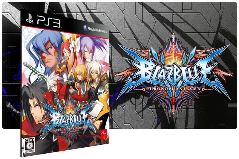 Banner do game Blazblue Chrono Phantasma para PS3