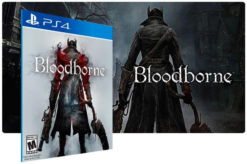 Banner do game Bloodborne para PS4