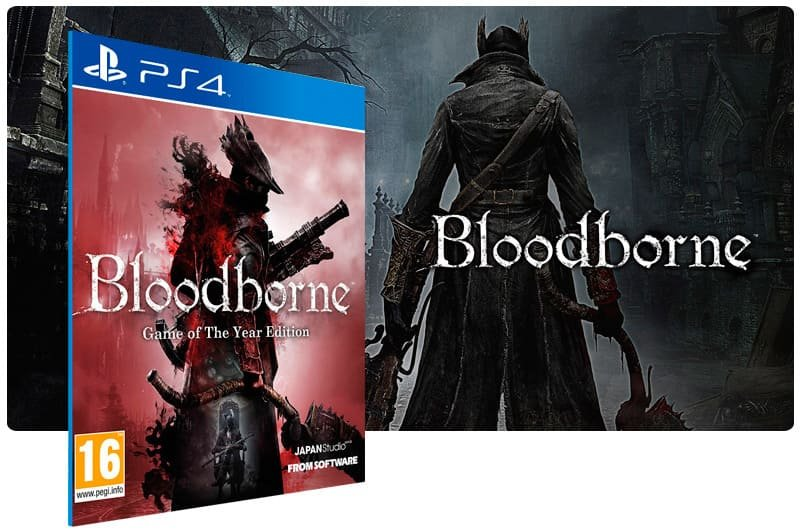 Banner do game Bloodborne Complete Edition Bundle para PS4