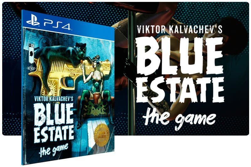 Banner do game Blue Estate The Game para PS4