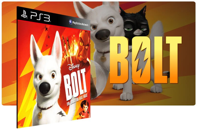 Banner do game Bolt para PS3