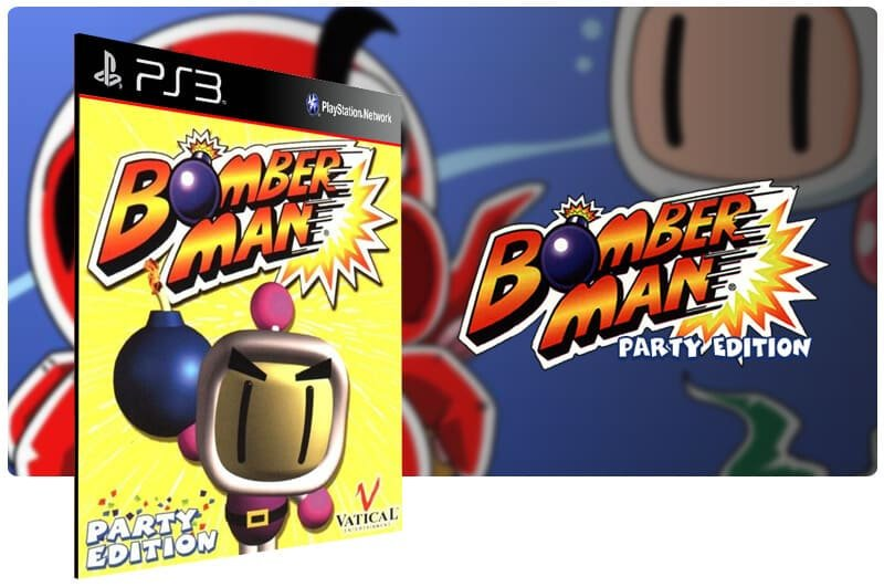 Banner do game Bomberman Party Edition para PS3
