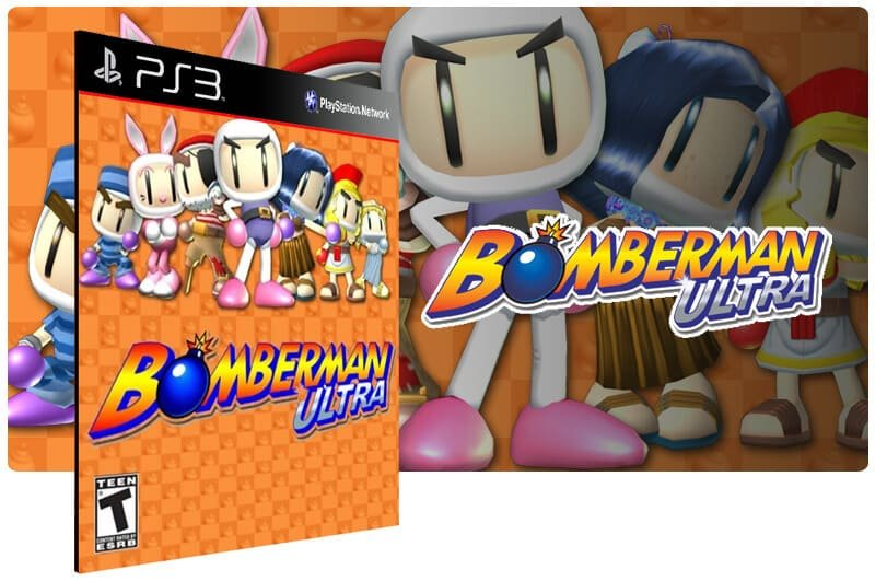 Banner do game Bomberman Ultra para PS3