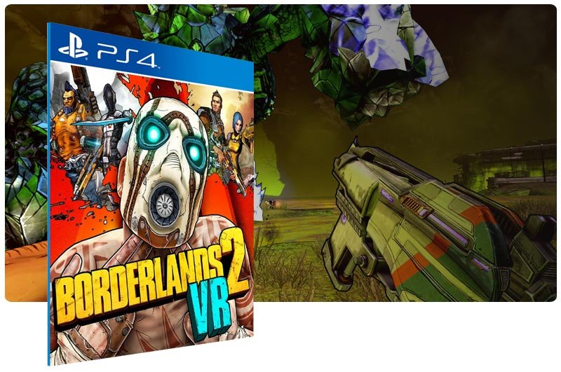 Banner do game Borderlands 2 VR para PS4
