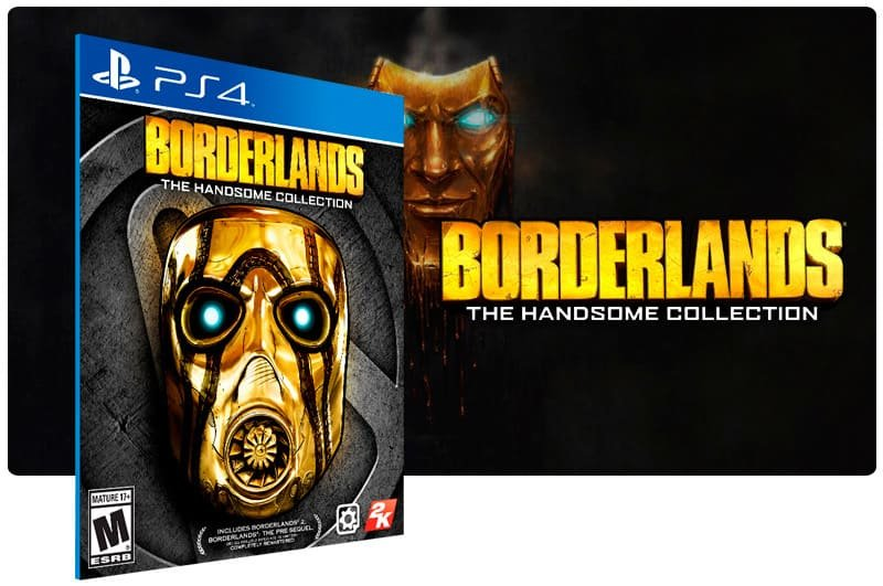 Banner do game Borderlands: The Handsome Collection para PS4