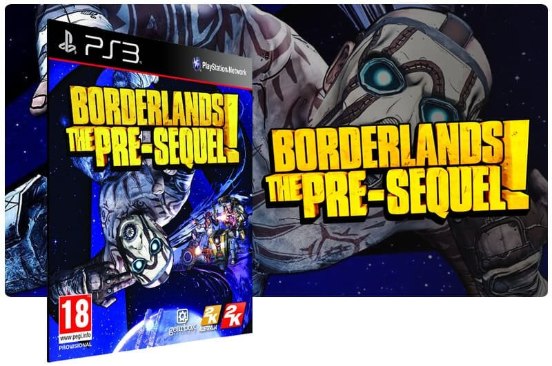 Banner do game Borderlands The Pre Sequel para PS3