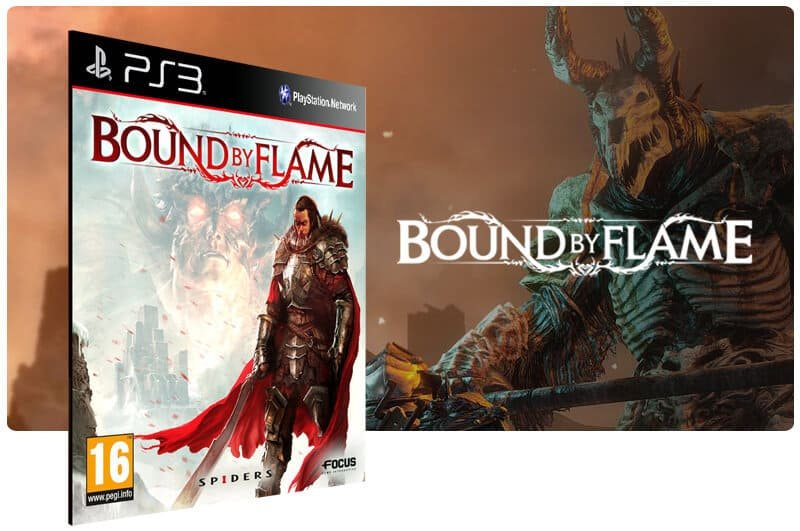 Banner do game Bound By Flame para PS3