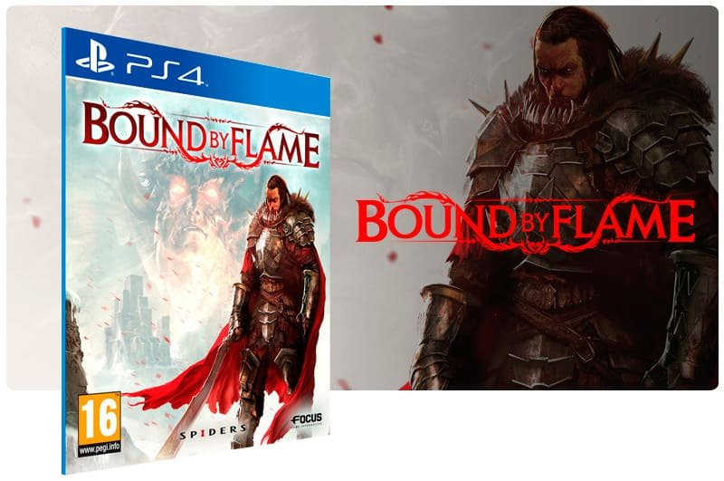 Banner do game Bound By Flame para PS4