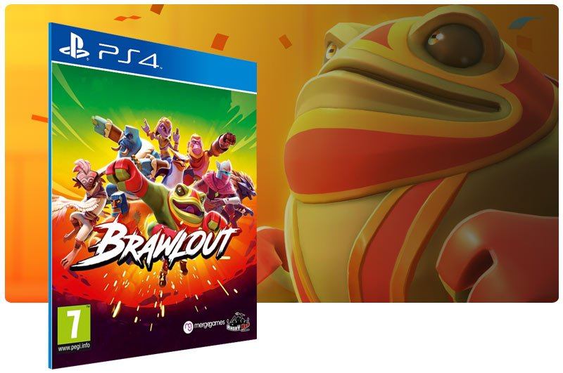 Banner do game Brawlout para PS4