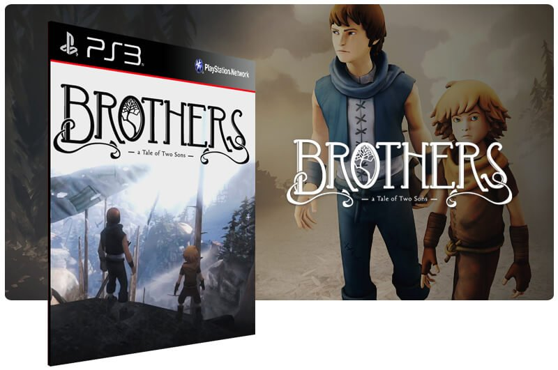 Banner do game Brothers a Tale of Two Sons para PS3