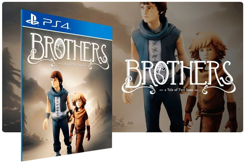 Banner do game Brothers A Tale Of Two Sons para PS4