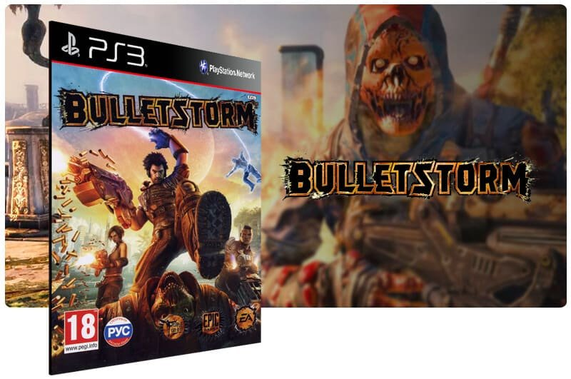 Banner do game Bulletstorm para PS3