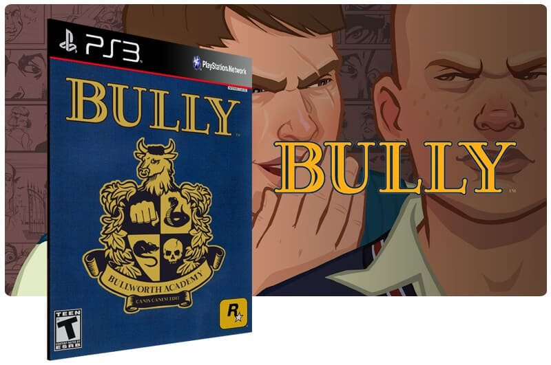 Banner do game Bully para PS3