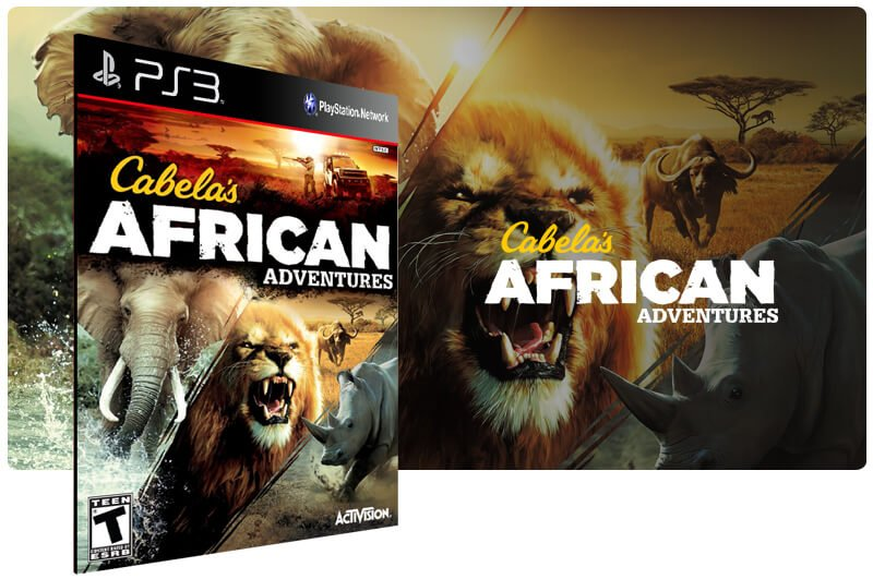 Banner do game Cabela African Adventures para PS3