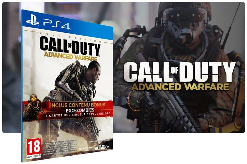 Banner do game Call Of Duty Advanced Warfare para PS4