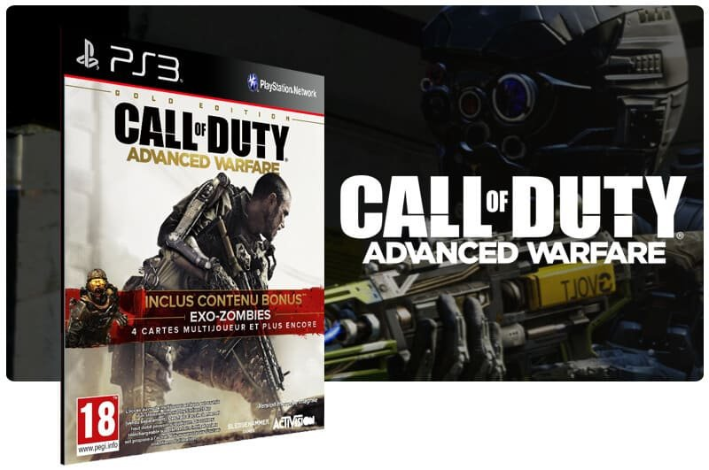 Banner do game Call Of Duty Advanced Warfare para PS3