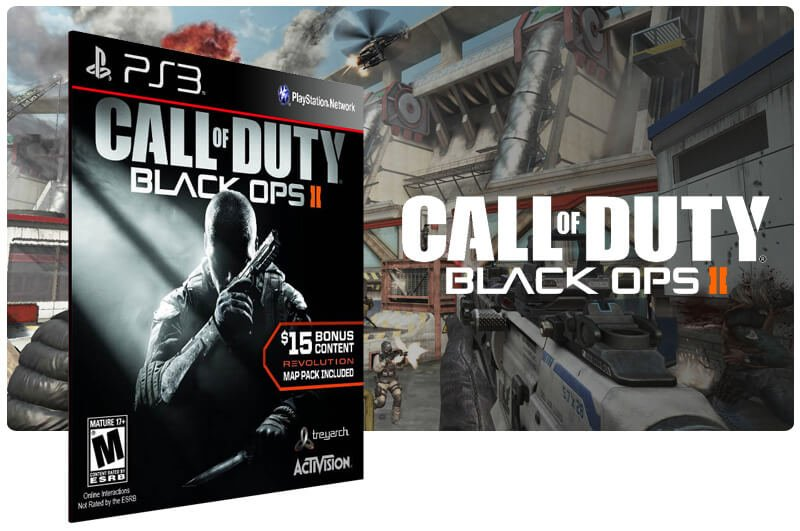Call Of Duty Black Ops 2 + Revolution Map Pack Ps3 Psn Mídia Digital Call Of Duty Revolution Map Pack on
