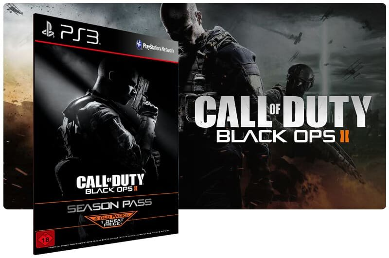 Banner do game Call Of Duty Black Ops 2 Season Pass para PS3