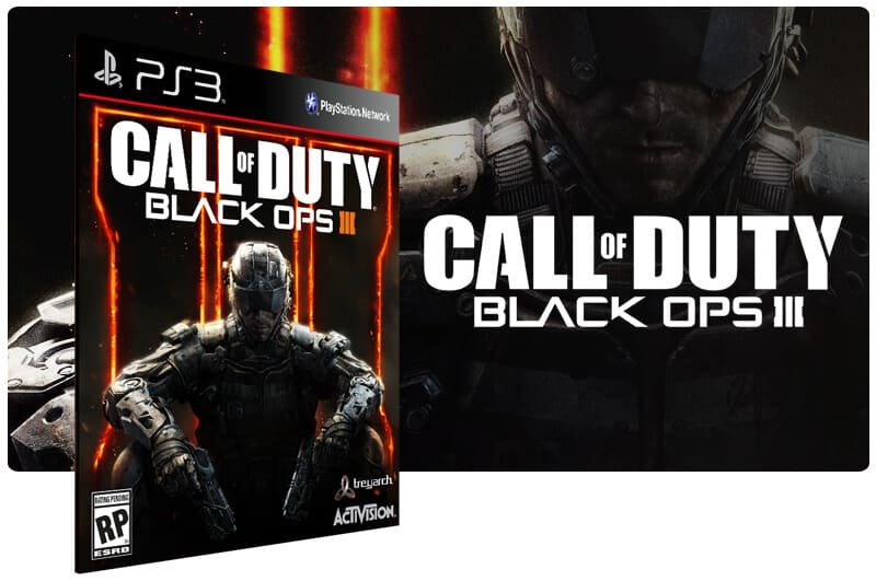 Banner do game Call Of Duty Black Ops 3 + Black Ops 1 para PS3